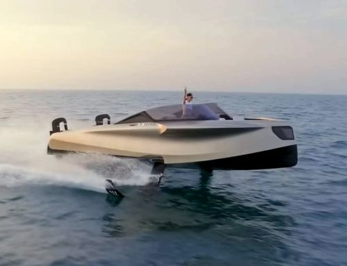 The million dollar Flying Yacht
