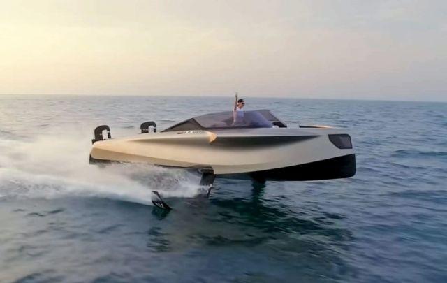 The million dollar Flying Yacht
