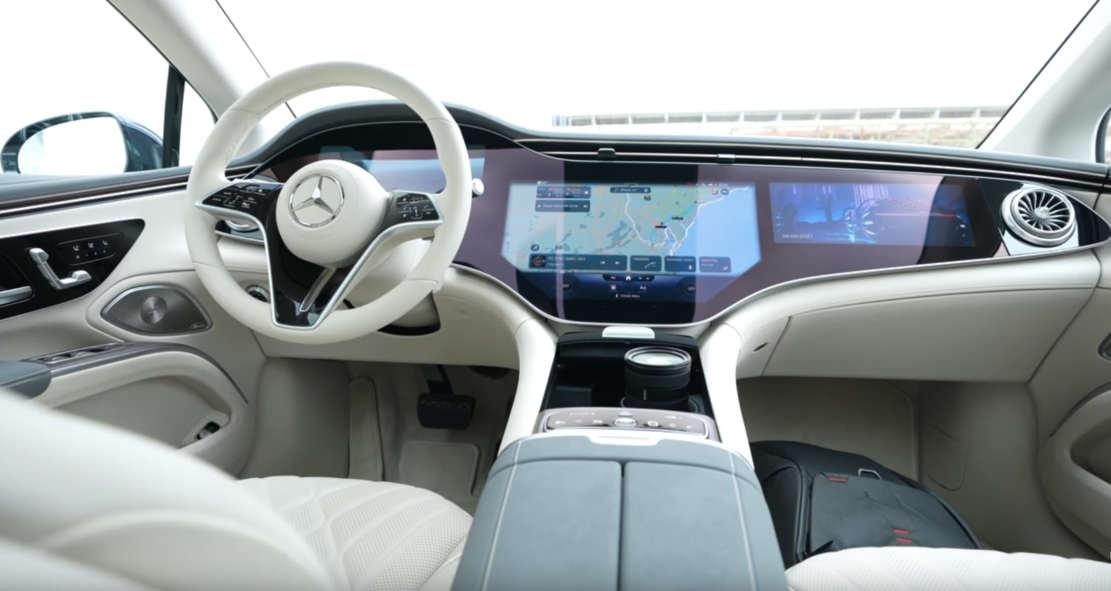 Top 5 Mercedes EQS Features
