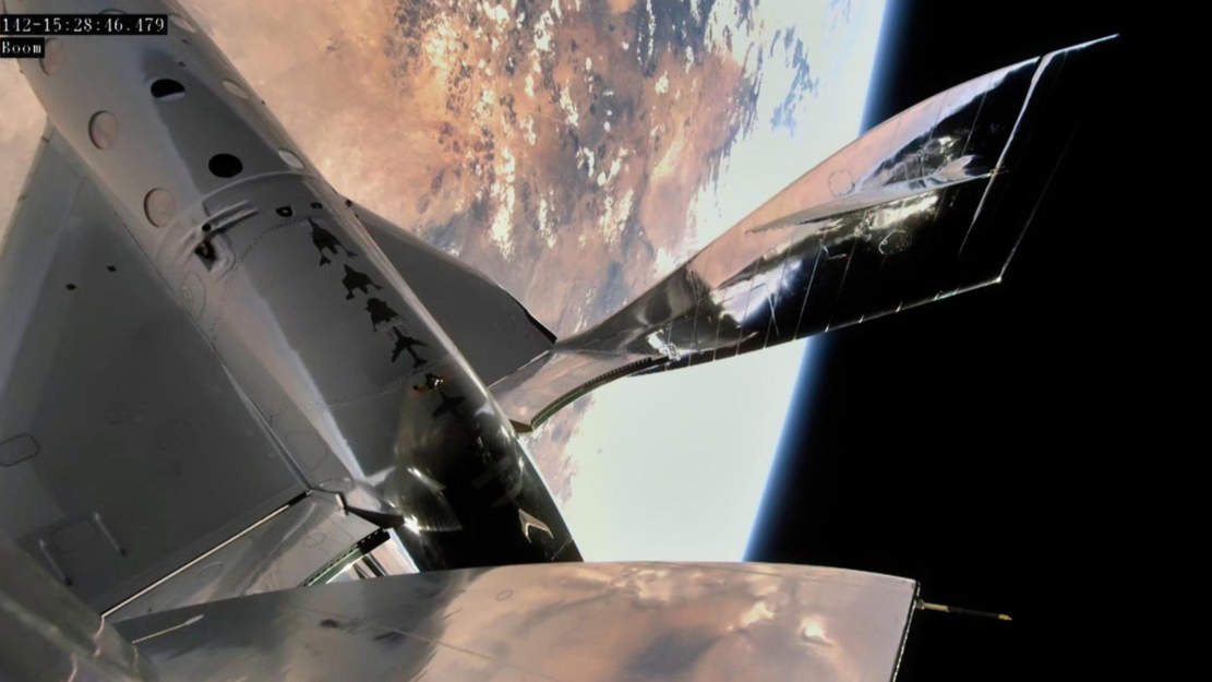 Virgin Galactic reaches space from Spaceport America
