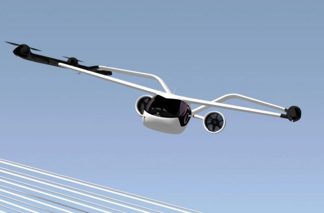 VoloConnect new urban air mobility aircraft