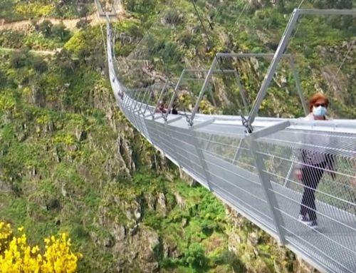 World's Longest Pedestrian Suspension Bridge