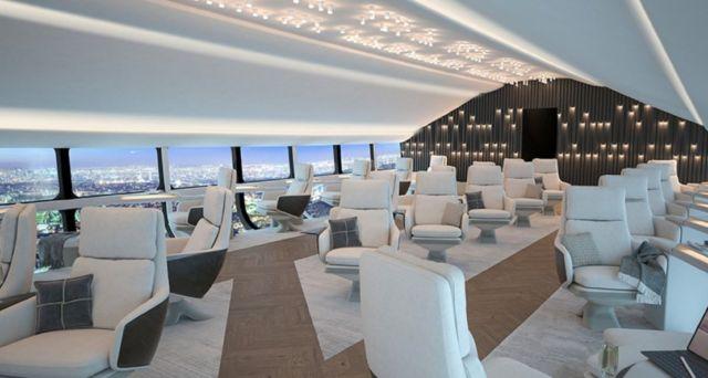 Airlander 10's spacious cabin