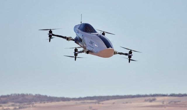 Airspeeder Flying racing car makes historic first flights
