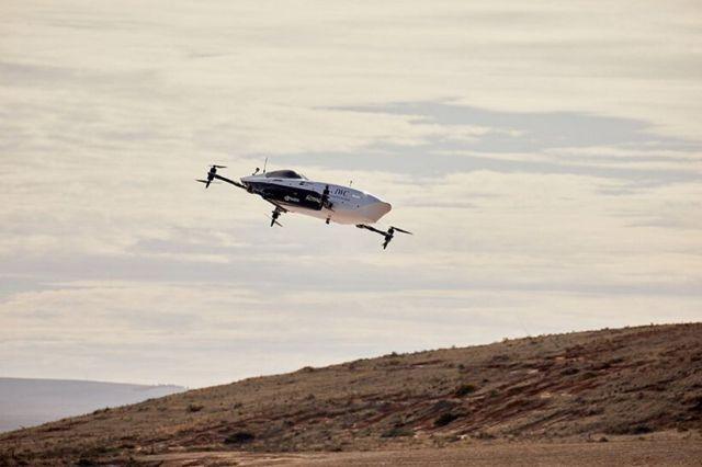 Airspeeder Flying racing car makes historic first flights (6)