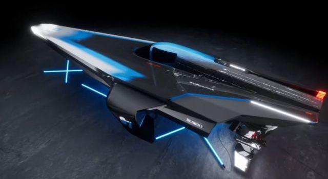 E1 Series RaceBird electric powerboat (3)