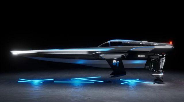 E1 Series RaceBird electric powerboat (2)
