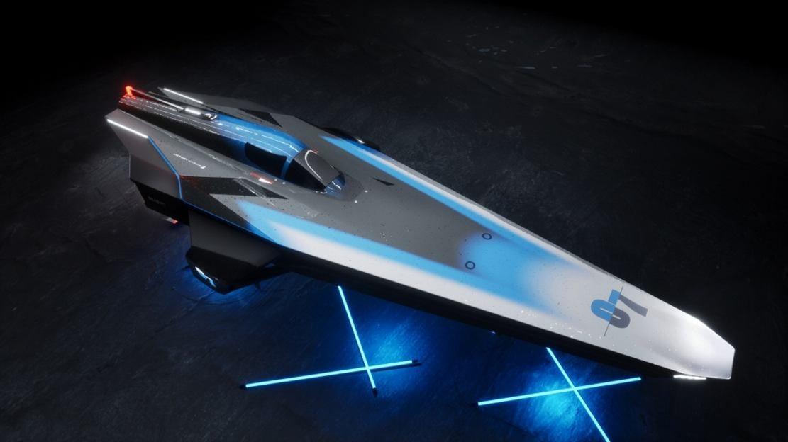 E1 Series RaceBird electric powerboat (1)