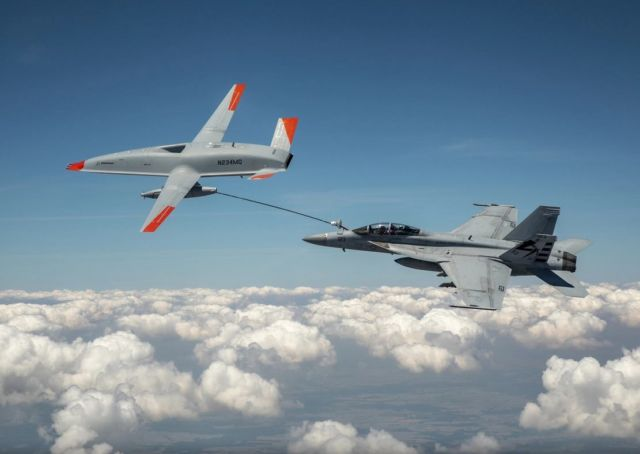 First Unmanned Aircraft to Refuel Another Aircraft (1)