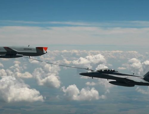First Unmanned Aircraft to Refuel Another Aircraft