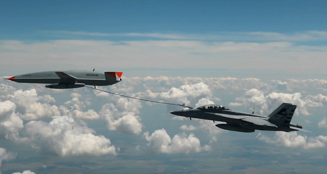 First Unmanned Aircraft to Refuel Another Aircraft (3)
