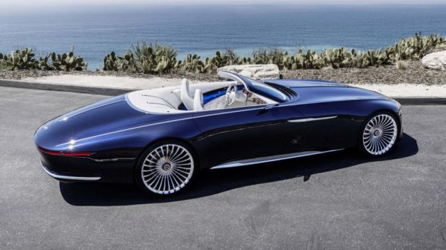 New Batman will roll in the Mercedes-Maybach 6 (6)