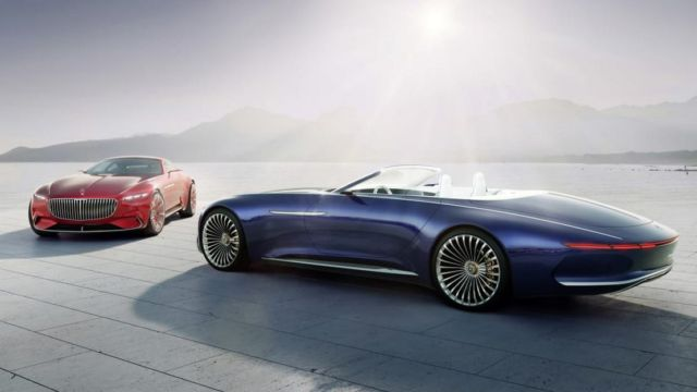 New Batman will roll in the Mercedes-Maybach 6 (1)