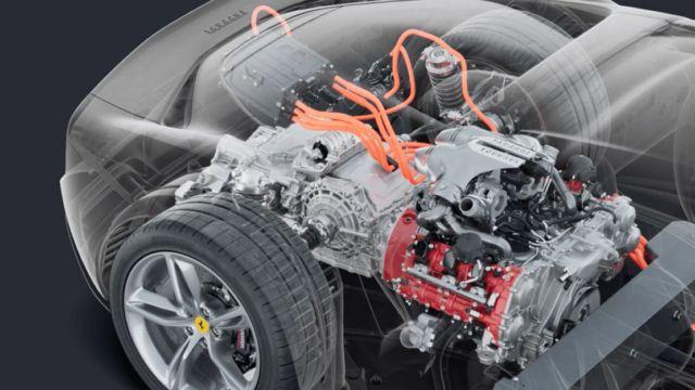 New Ferrari 296 GTB hybrid (1)