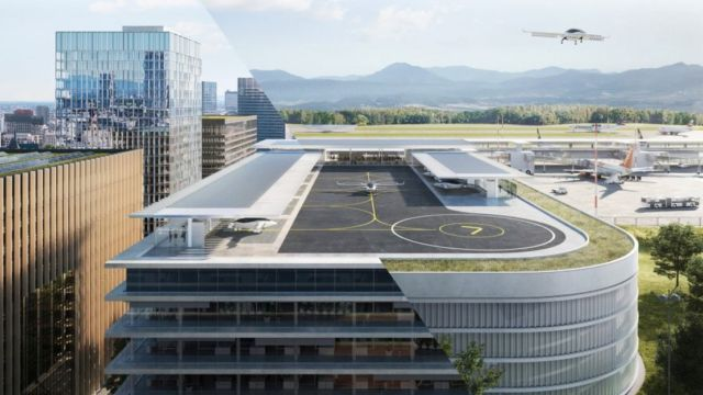 Parking Garages to become Skyports for Air Taxis