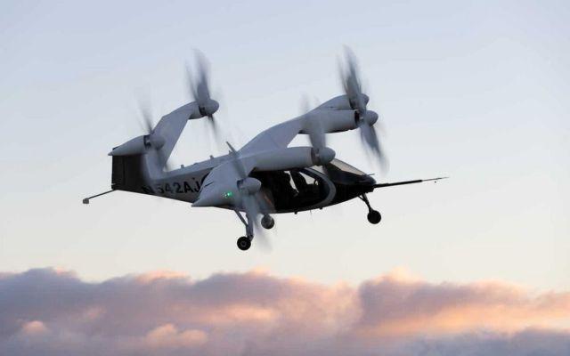 Joby Aviation Aircraft in Flight