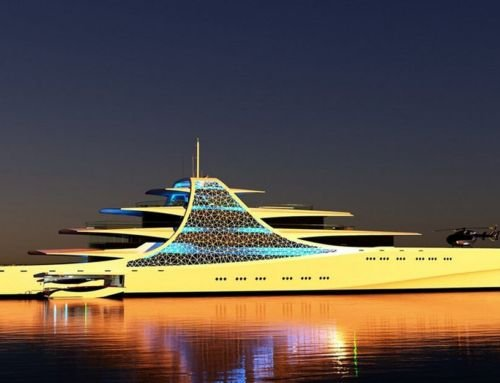 Project Crystal Superyacht