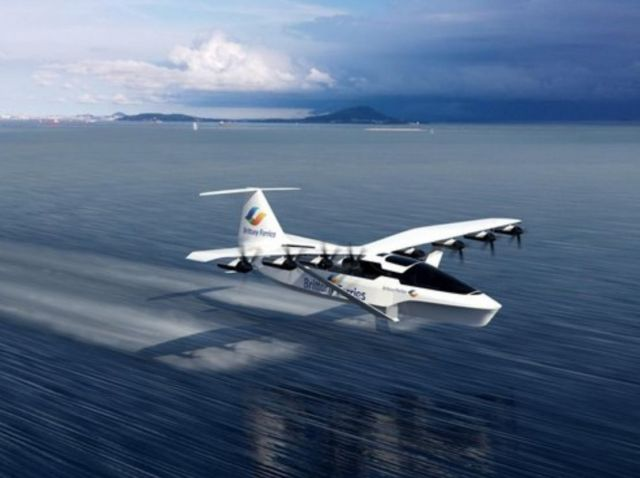 Seagliders to connect UK and France in high-speed