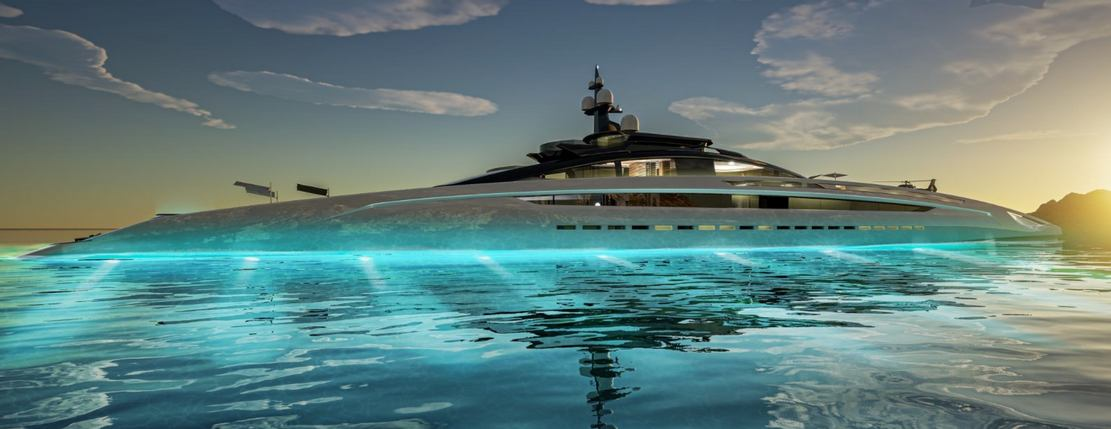 Sunrise 443-Foot Gigayacht concept (1)