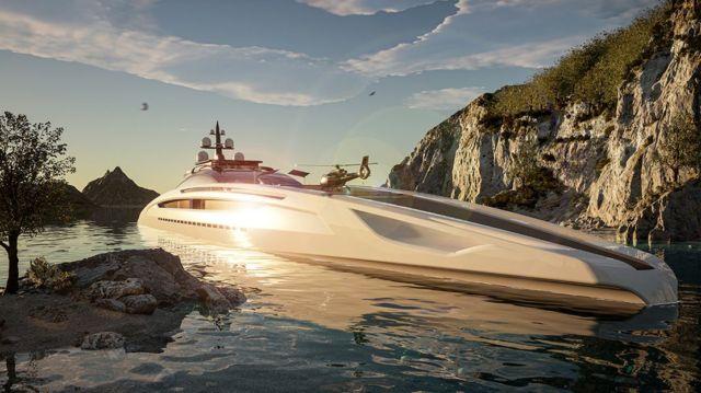 Sunrise 443-Foot Gigayacht concept (8)