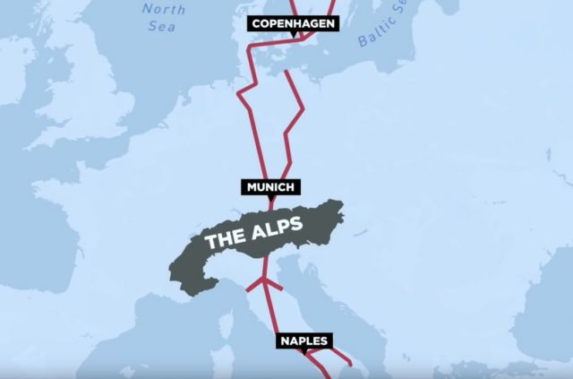 The $11BN Tunnel through the Alps (1)