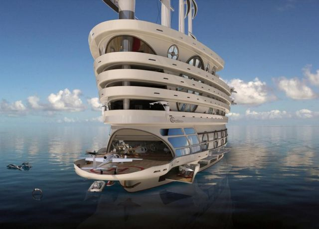 The Galleon 525-foot Sailing Gigayacht