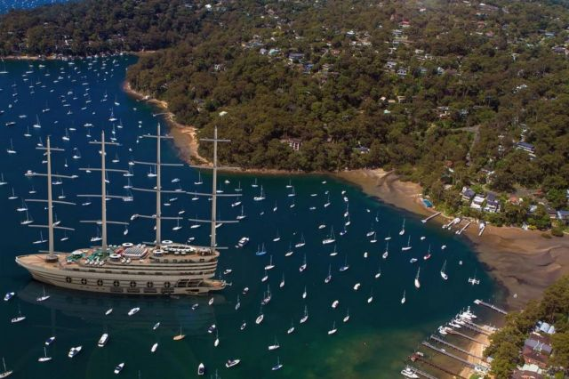 The Galleon 525-foot Sailing Gigayacht (4)