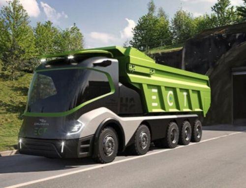 The Hydrogen-Powered 'Skateboard' Truck