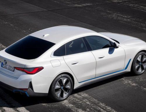 The first BMW i4 EV