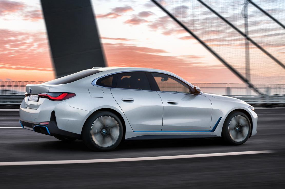 The first BMW i4 EV (1)