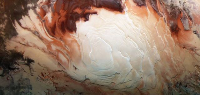 There may be more Water on Mars