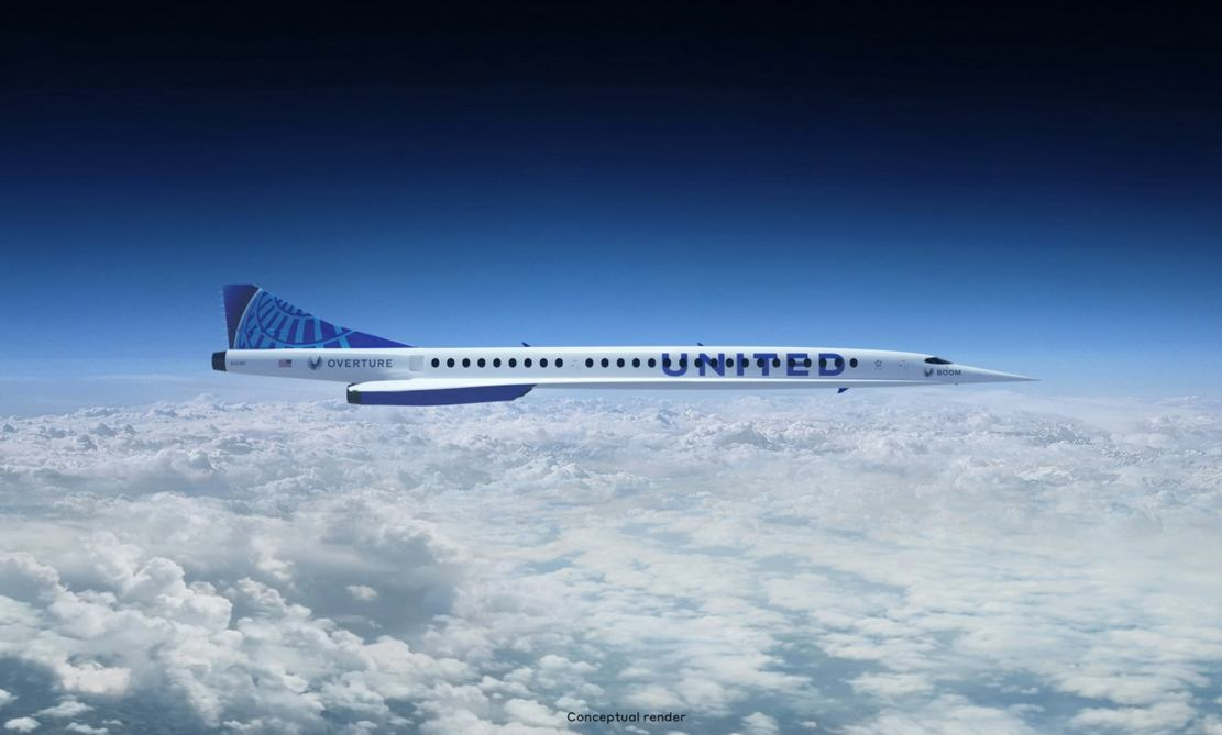 United goes Supersonic