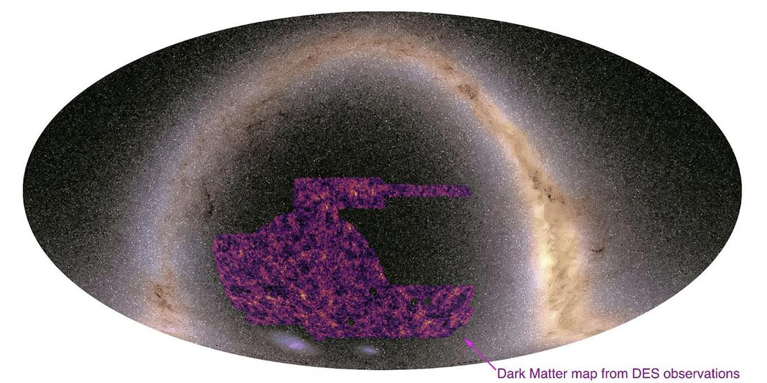 Universe's Dark Energy most detailed Map