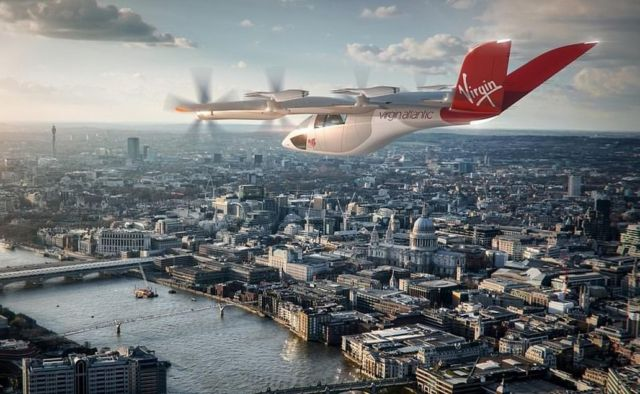 Virgin Atlantic, Rolls-Royce to build 1,000 Flying Cars