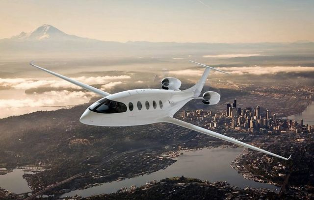 Alice electric plane for 9 passengers