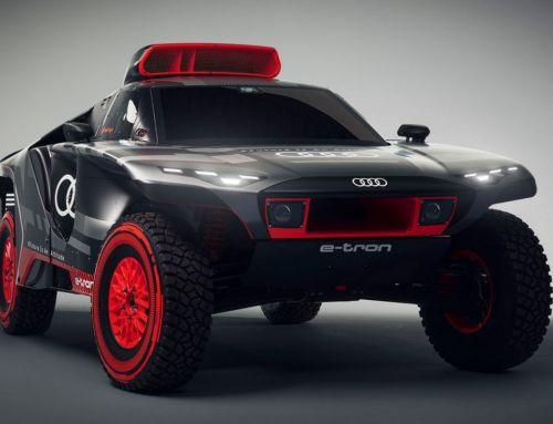 Audi RS Q e-tron Rally car