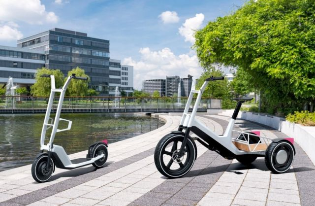 BMW Cargo bike and e-scooter concepts