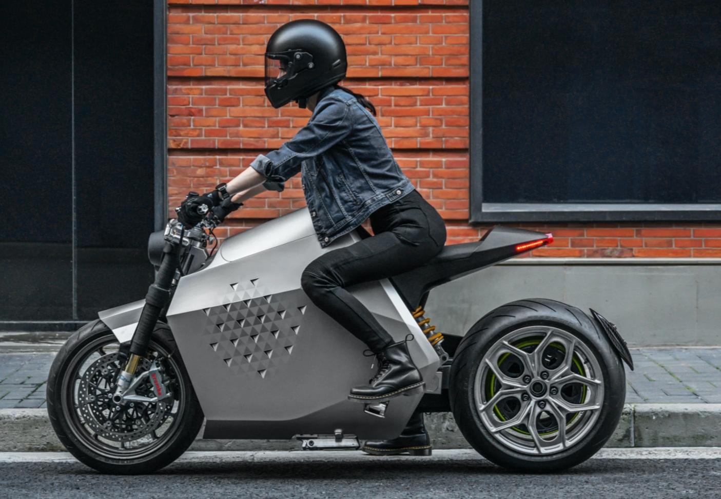 Da Vinci DC100 electric motorcycle (7)