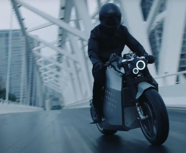 Da Vinci DC100 electric motorcycle (4)