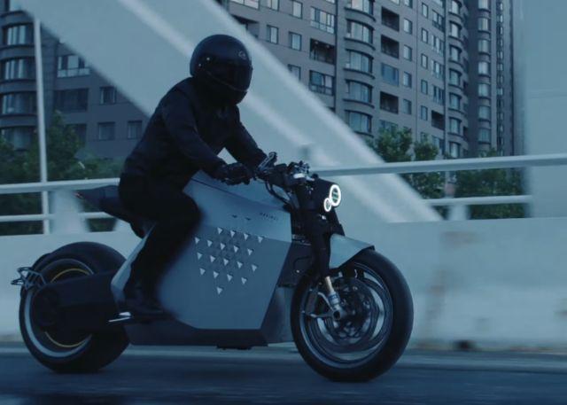 Da Vinci DC100 electric motorcycle (2)
