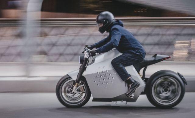 Da Vinci DC100 electric motorcycle (1)