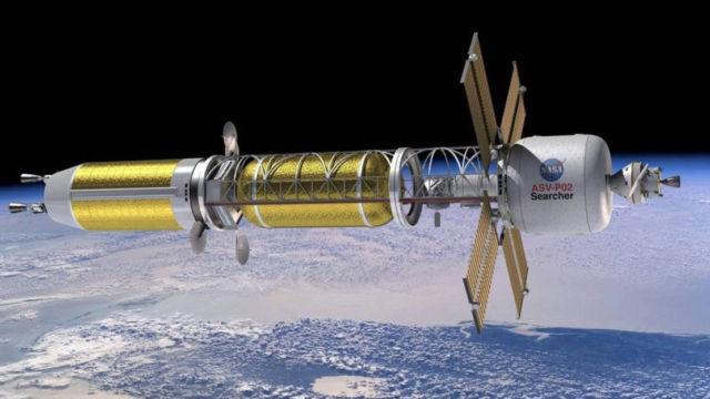 NASA's Nuclear Thermal Propulsion Reactor concept awards