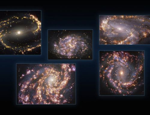 New stunning images of nearby Galaxies