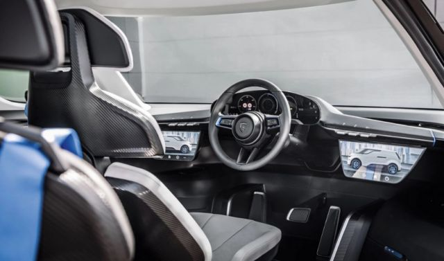 Porsche unveiled the interior of the future
