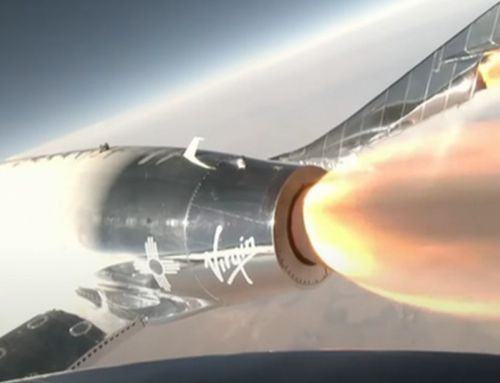 Richard Branson successfully reaches the 'Edge of Space'