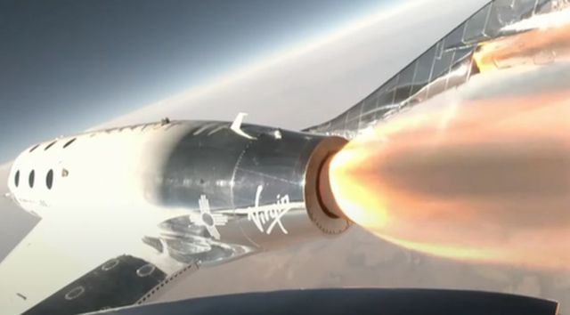 Richard Branson successfully reach the 'Edge of Space'