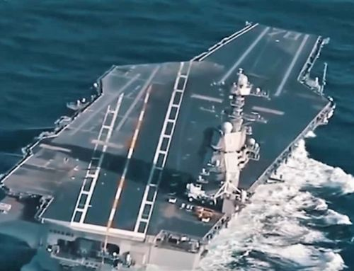 US Testing its New Gigantic $13 Billion Aircraft Carrier