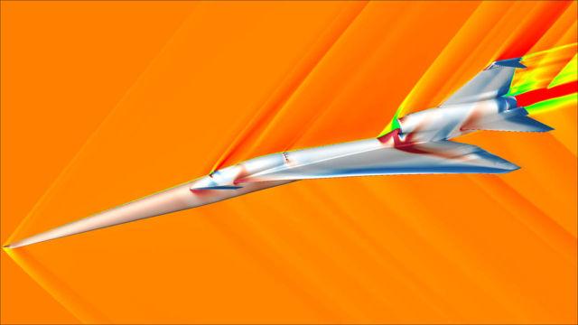 Visualizing Quieter Supersonic Flight