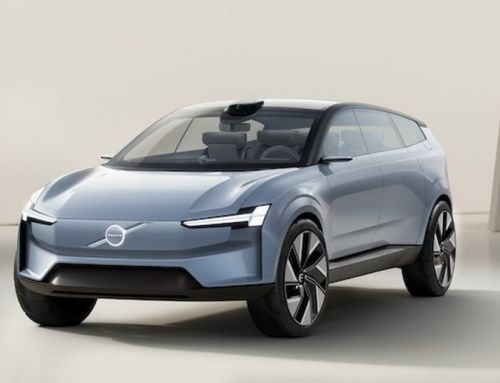 Volvo Concept Recharge electric vehicle