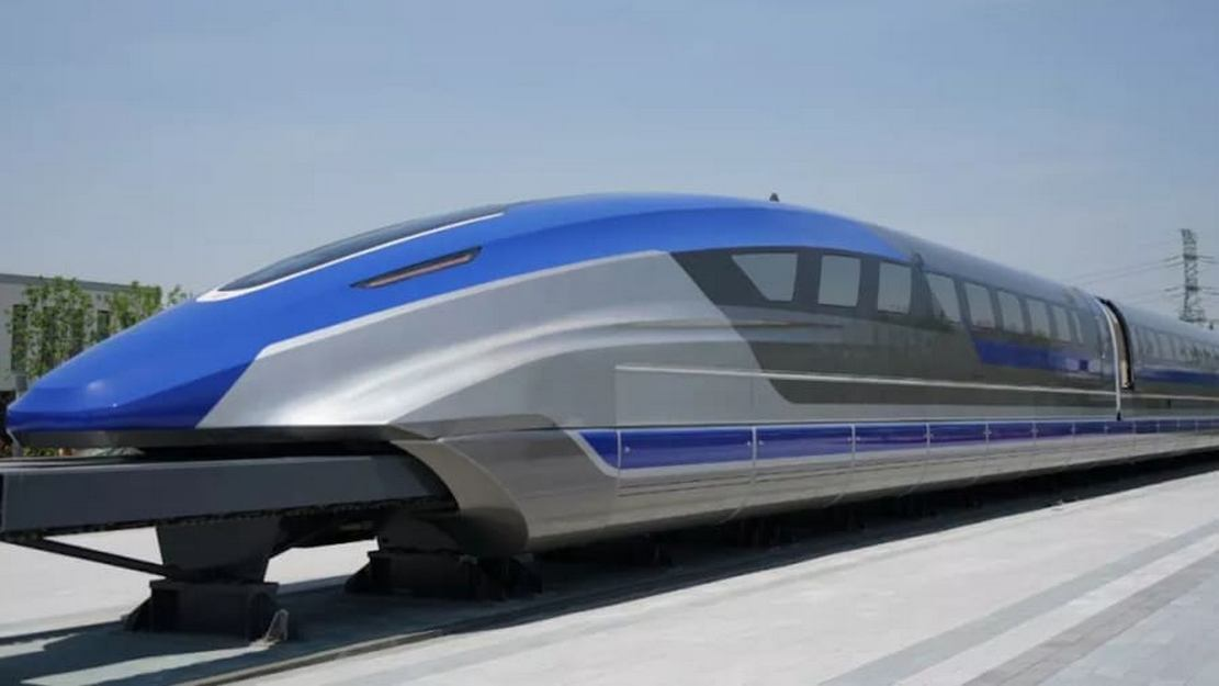 World's Fastest Maglev Train debuted in China